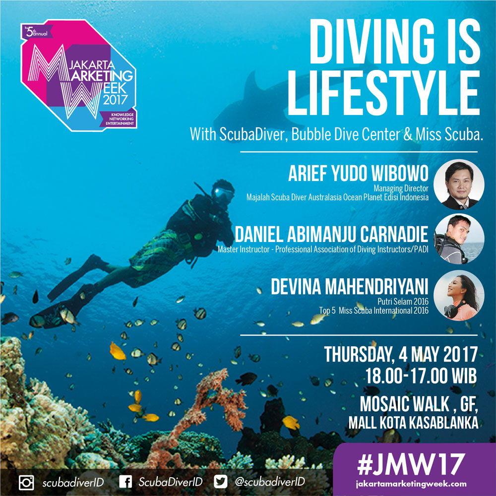 Diving-is-Lifestyle-Scuba-Diving-Jakarta-Marketing-Week-2017