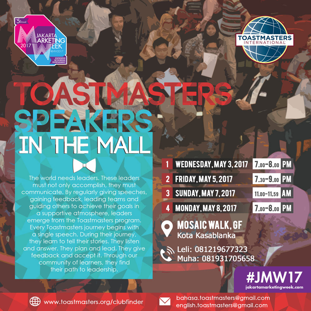 Toastmasters-speakers-in-the-mall--Jakarta-Marketing-Week-2017
